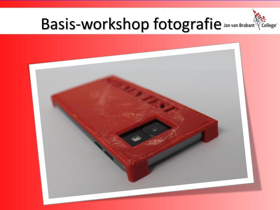 Basis-workshop fotografie