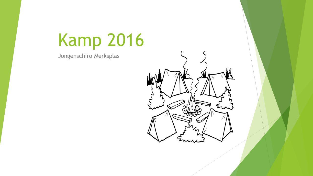 Kamp 2016 Jongenschiro Merksplas