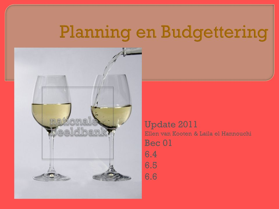  6.4 Budgetverschil  6.5 Efficiencyverschillen  6.6 Prijsverschillen