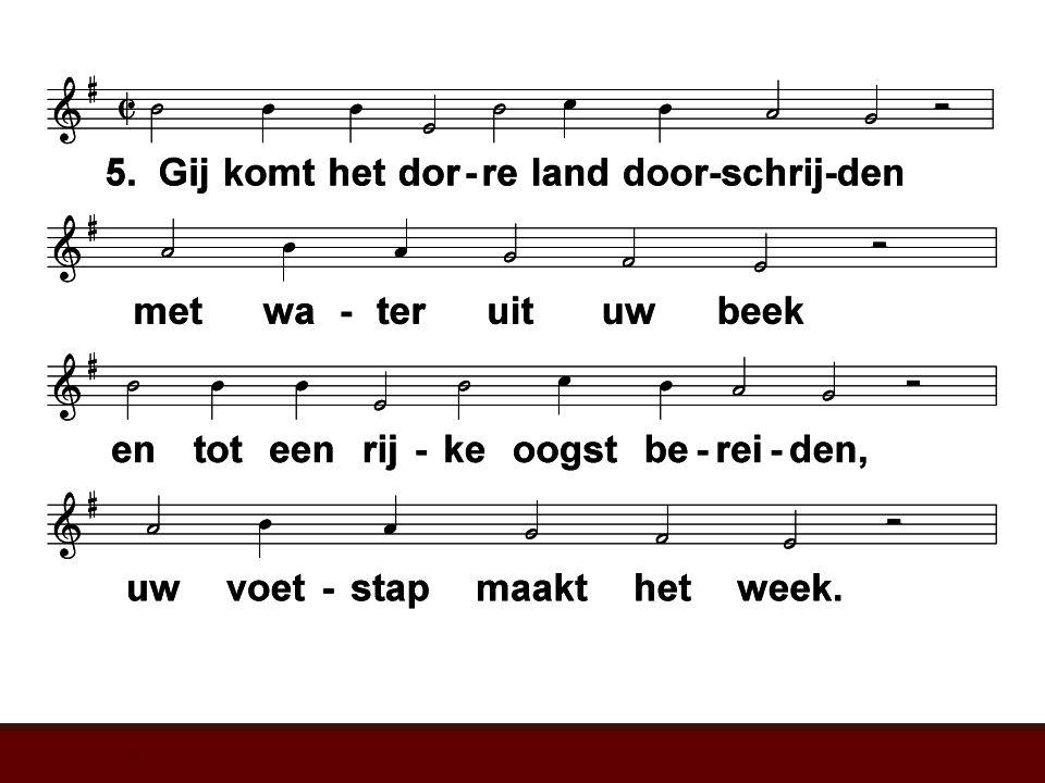 Psalm 65 (LvdK) t. W. Barnard; m. 1543