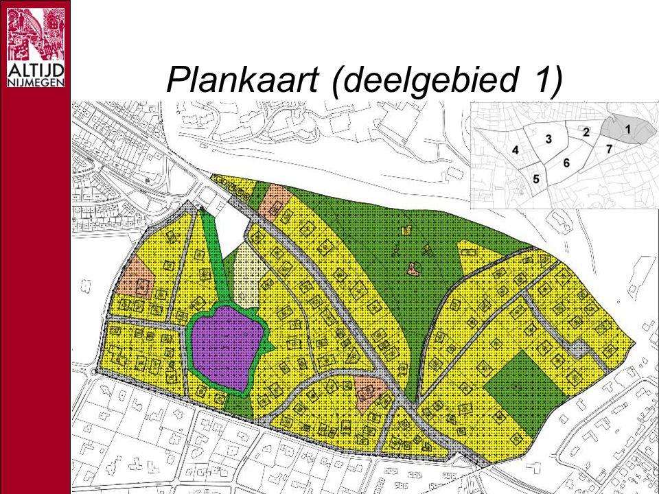 Plankaart (deelgebied 1)