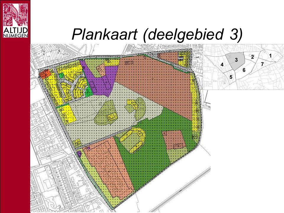 Plankaart (deelgebied 3)