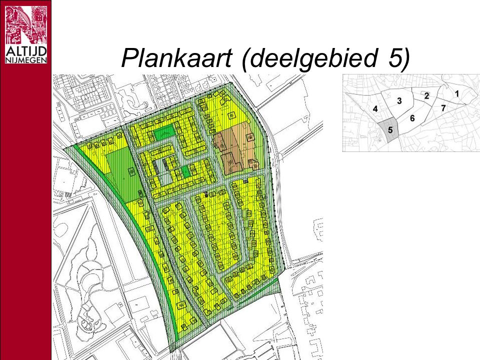 Plankaart (deelgebied 5)