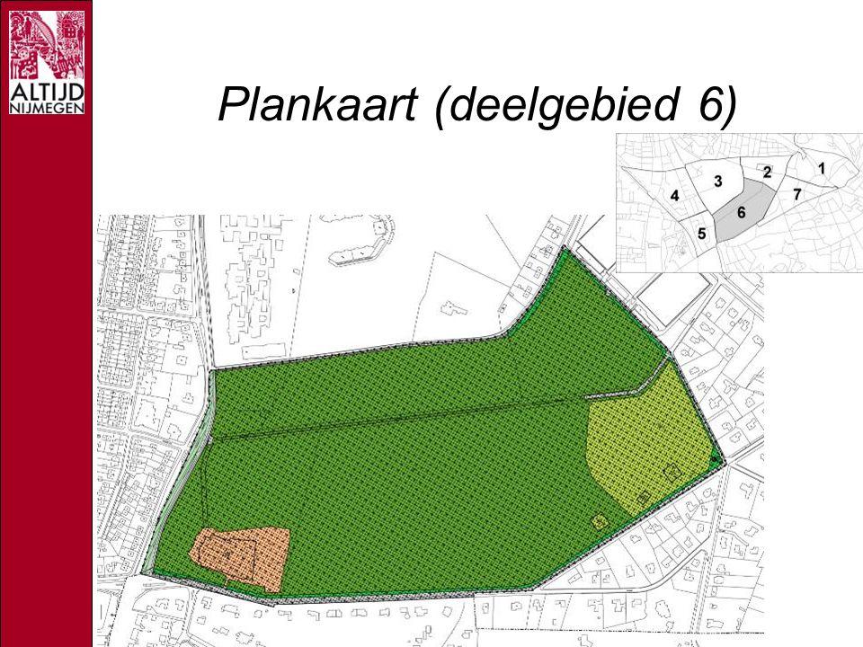 Plankaart (deelgebied 6)