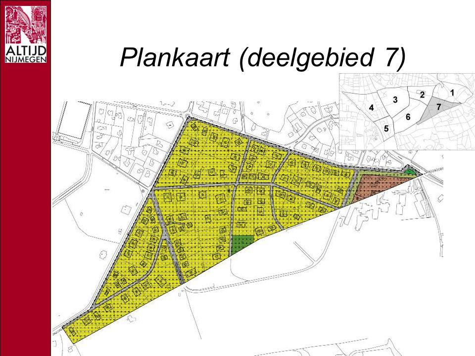 Plankaart (deelgebied 7)