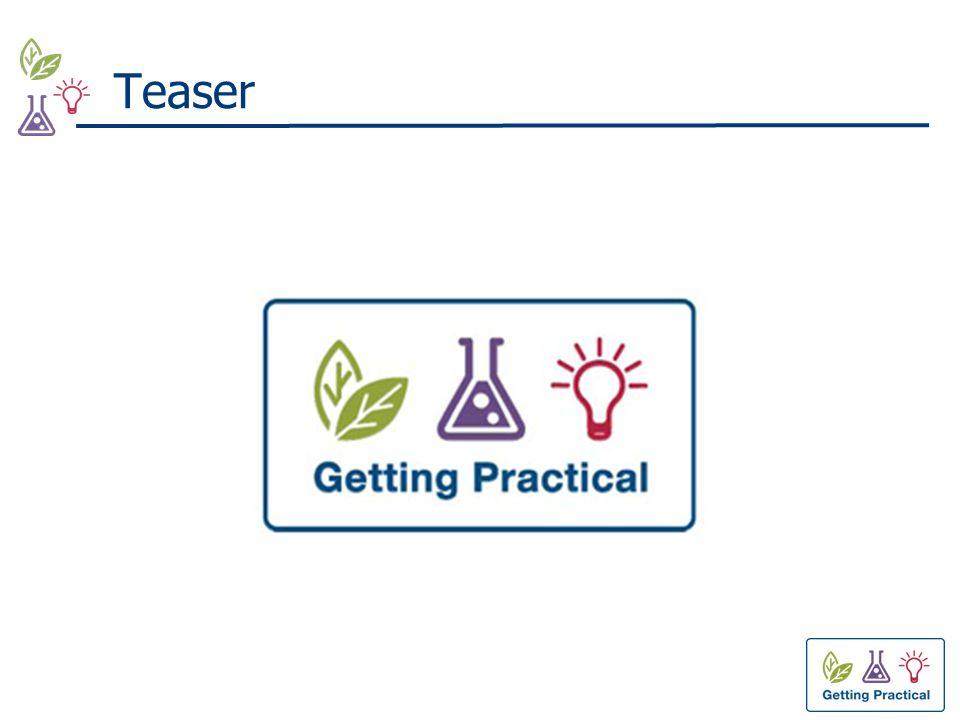 Getting Practical: waarom.
