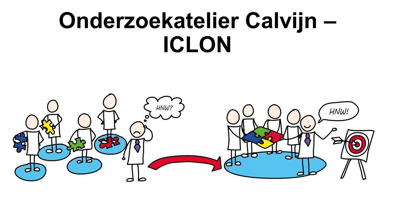 Onderzoekatelier Calvijn – ICLON