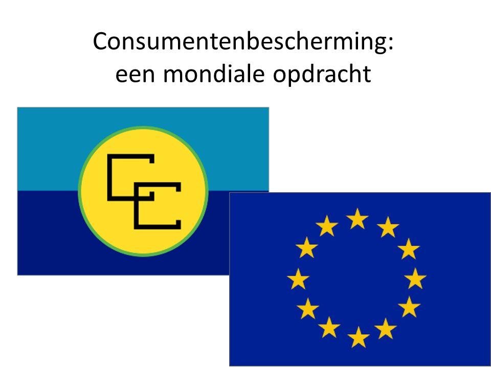 Consumentenbescherming: een mondiale opdracht