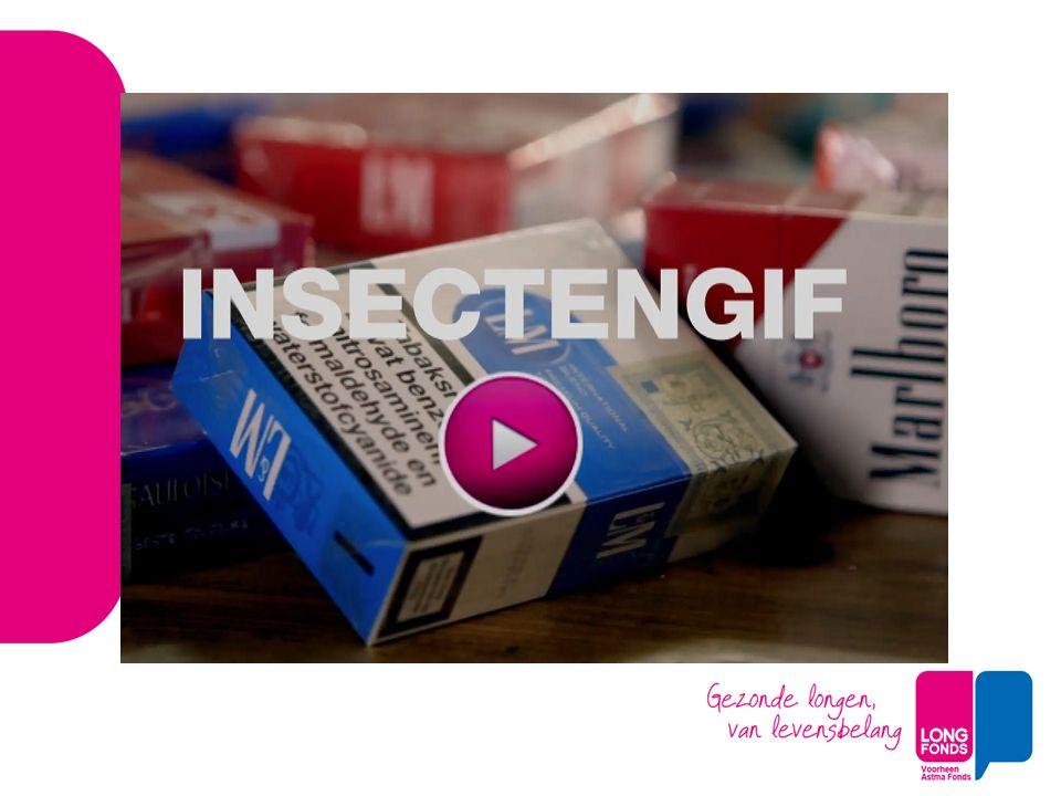 Lobby, in samenwerking met onze partners Actieve lobby, op maatregelen relevant voor Niet beginnen met roken -Prijs omhoog (accijns) -Minder verkrijgbaar (speciaalzaken) -Onaantrekkelijk pakjes zonder logo (plain packaging) Alliantie Nederland Rookvrij – 3 oprichtingspartners