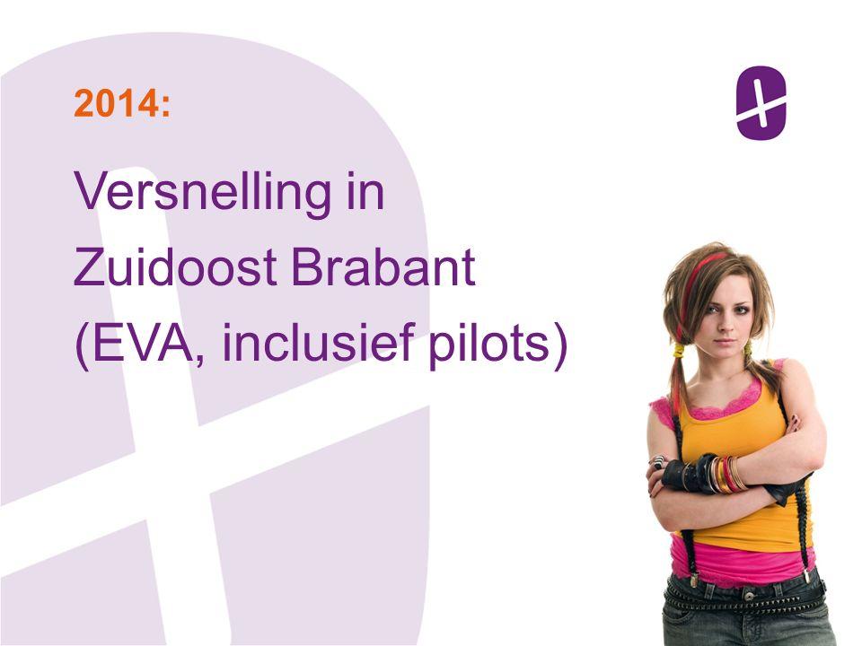 Versnelling in Zuidoost Brabant (EVA, inclusief pilots) 2014: