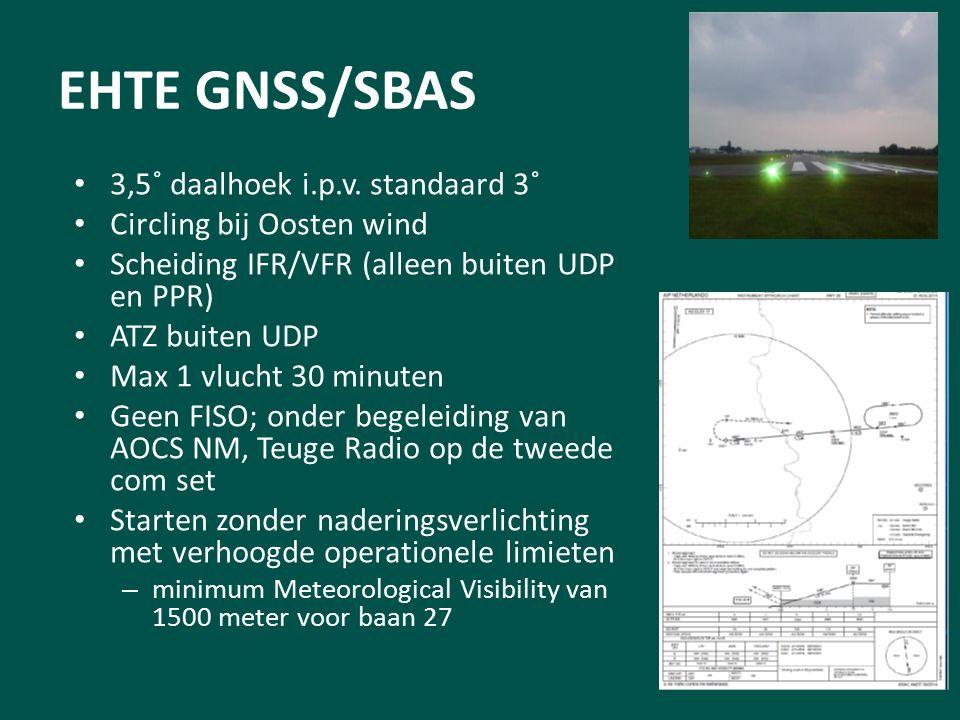EHTE GNSS/SBAS 3,5˚ daalhoek i.p.v.
