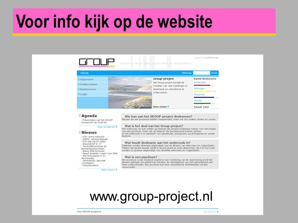 www.group-project.nl Voor info kijk op de website