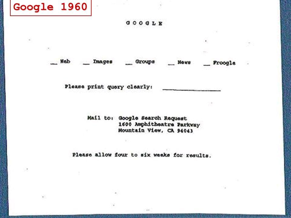 Google 1960