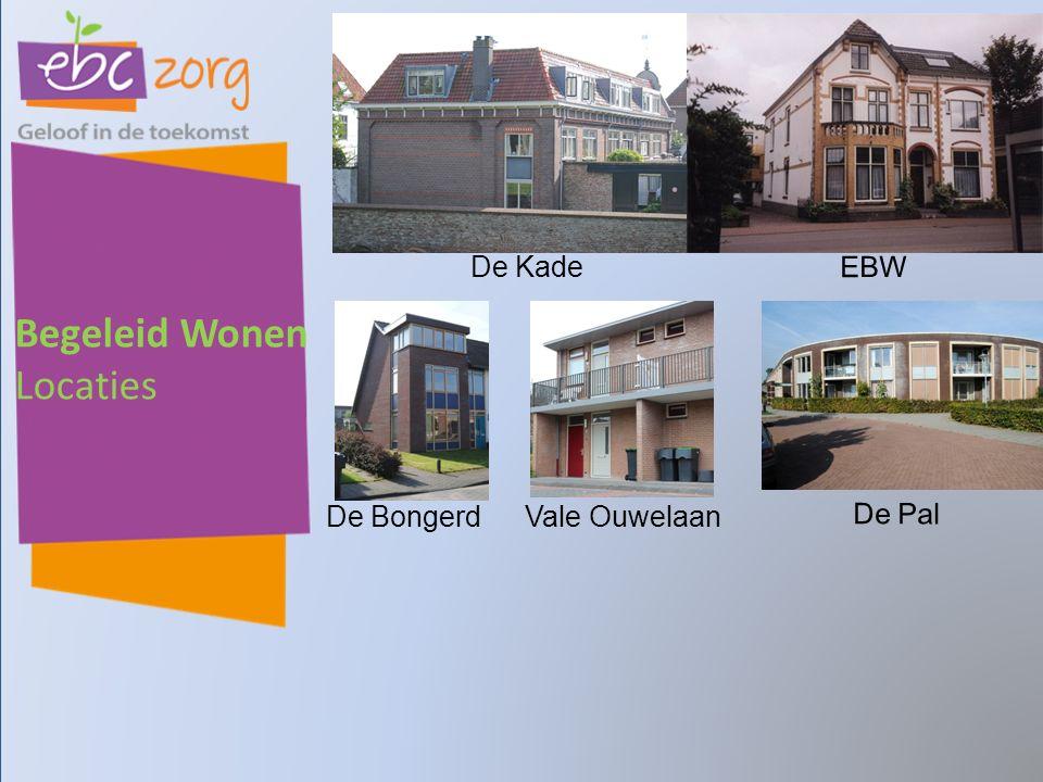 Begeleid Wonen Locaties De Kade De Pal EBW De BongerdVale Ouwelaan
