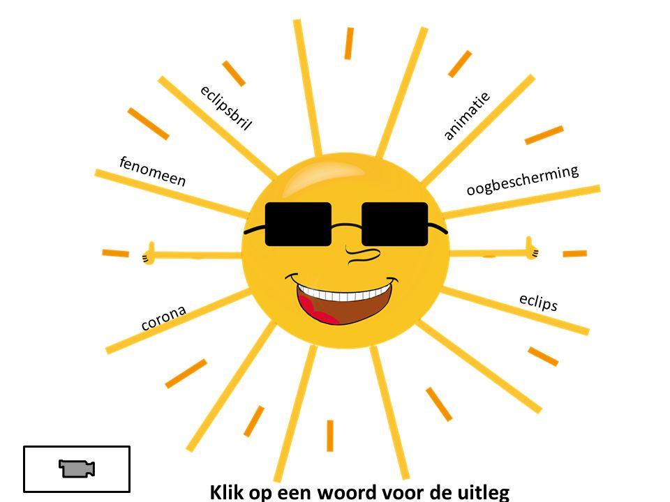 eclips corona oogbescherming fenomeen eclipsbril animatie Klik op een woord voor de uitleg