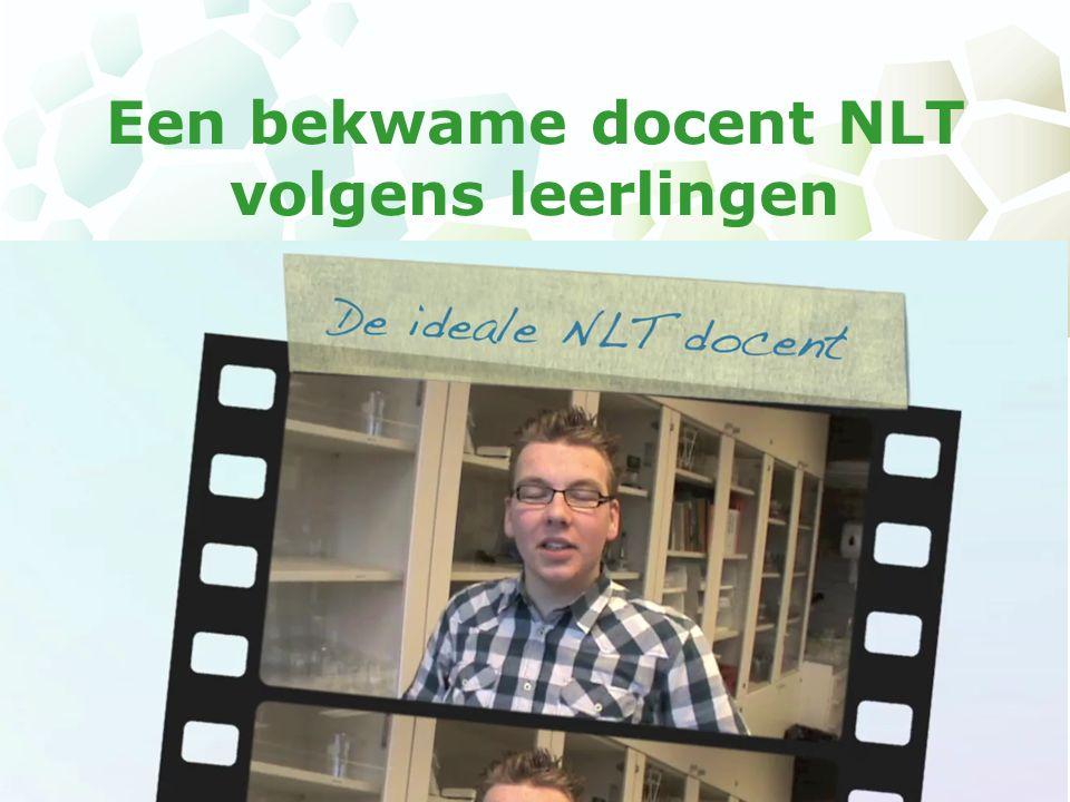 Een bekwame docent NLT volgens leerlingen