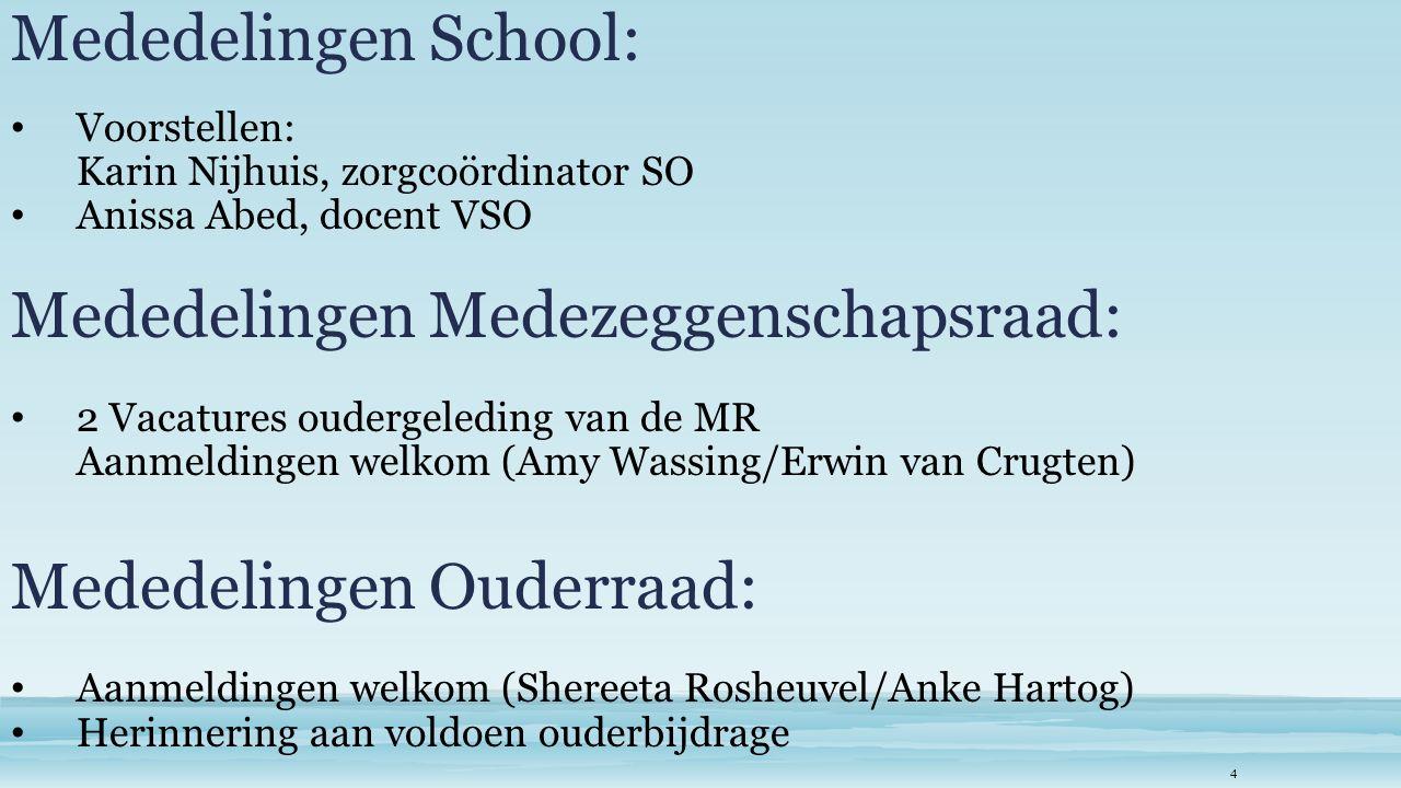 Evaluatie transfers leerlingen t.b.v. therapieën Klaasjan van Haastrecht/Sophia Revalidatie 5