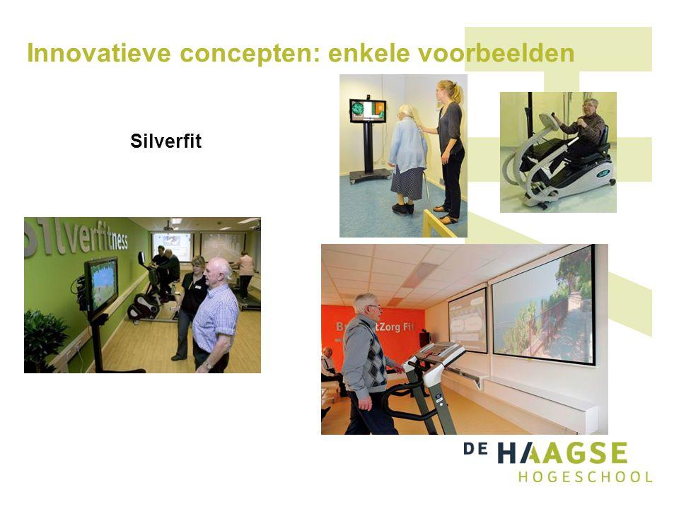 Innovatieve concepten: enkele voorbeelden Silverfit