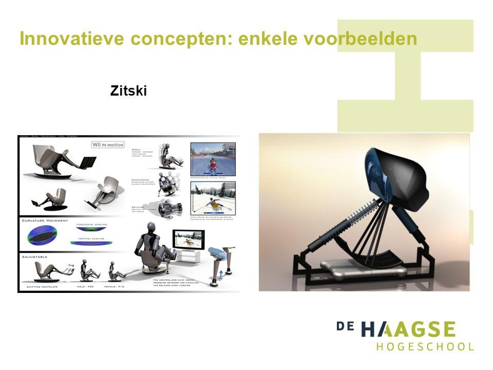 Innovatieve concepten: enkele voorbeelden Zitski