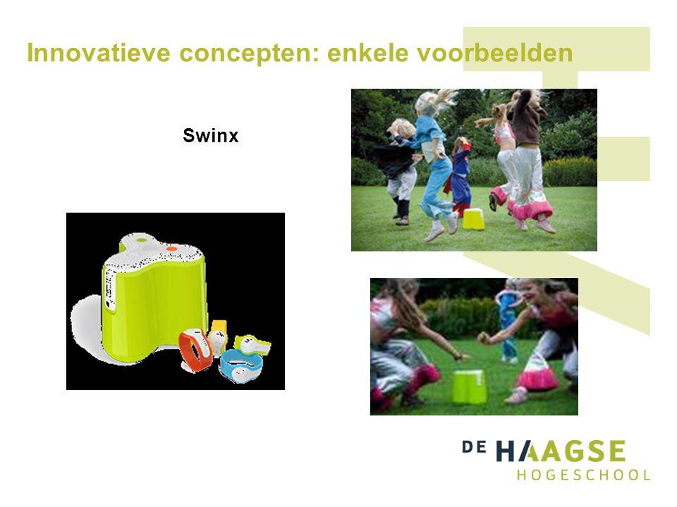 Innovatieve concepten: enkele voorbeelden Swinx