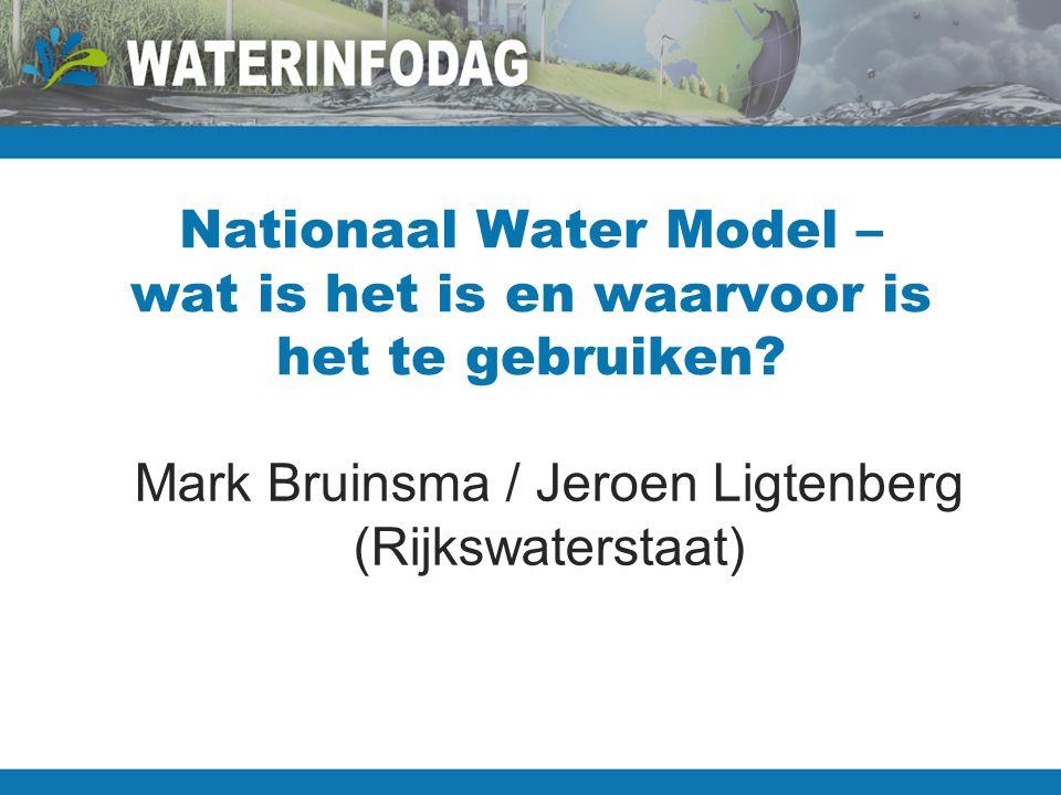 Nationaal Water Model – wat is het is en waarvoor is het te gebruiken.