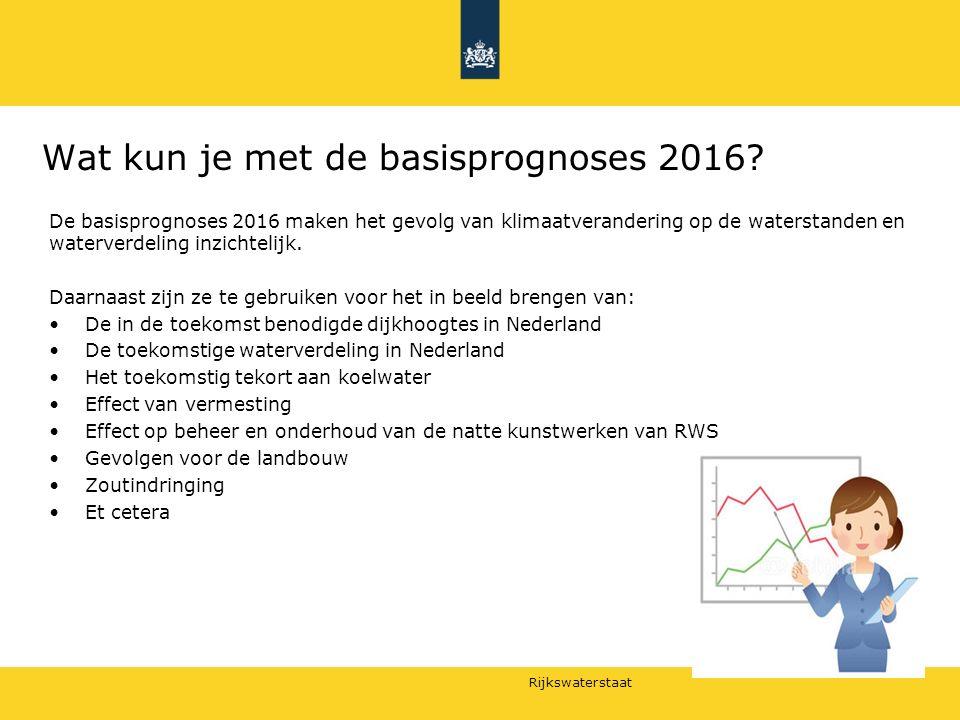 Rijkswaterstaat Voorbeeld: toepassing voor veiligheid 9
