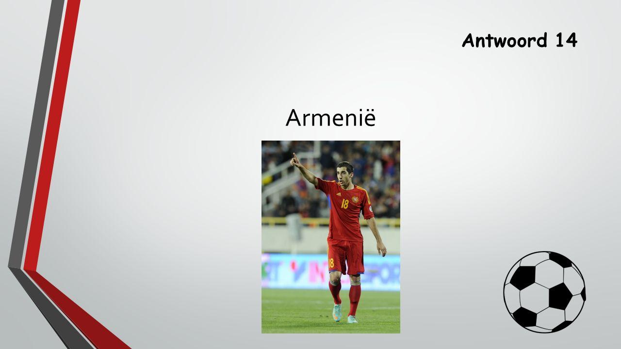 Vraag 15 Wie maakte in 2012 de enige goal in het EK duel Nederland-Denemarken?