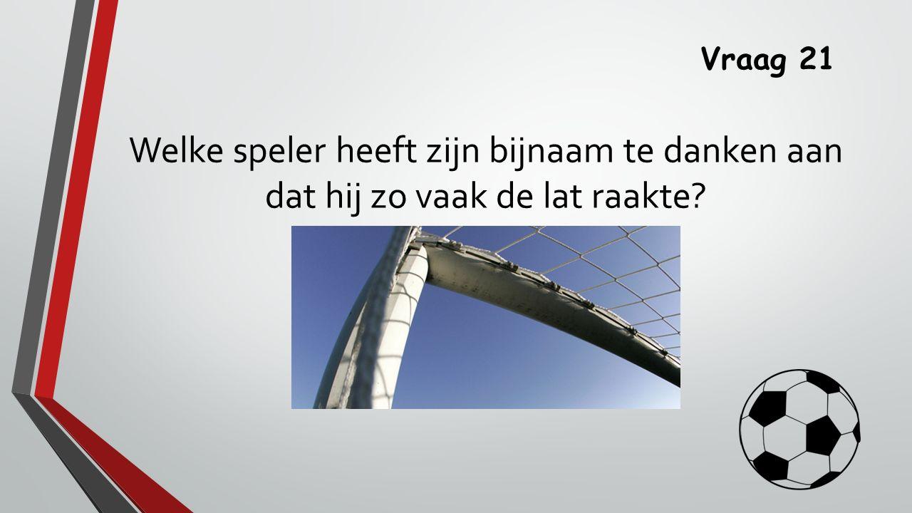 Antwoord 21 Ricky van den Bergh