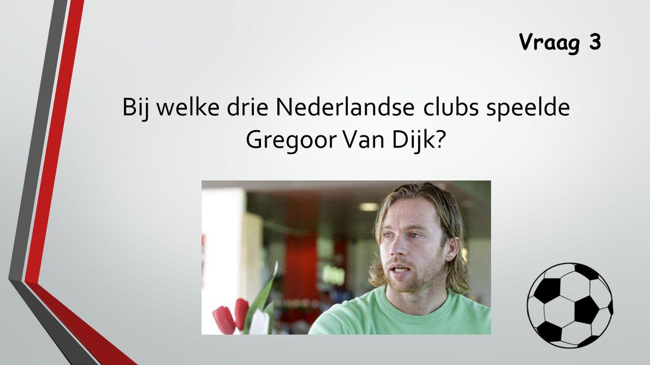 Antwoord 3 Roda JC, FC Groningen en FC Utrecht