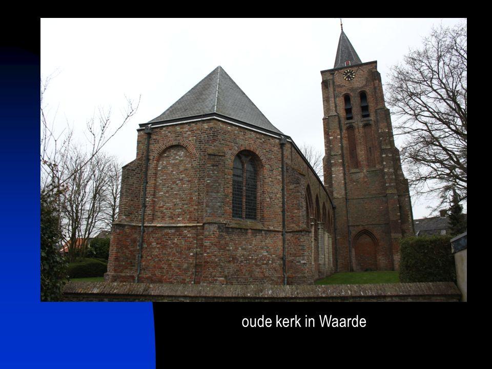 oude kerk in Waarde