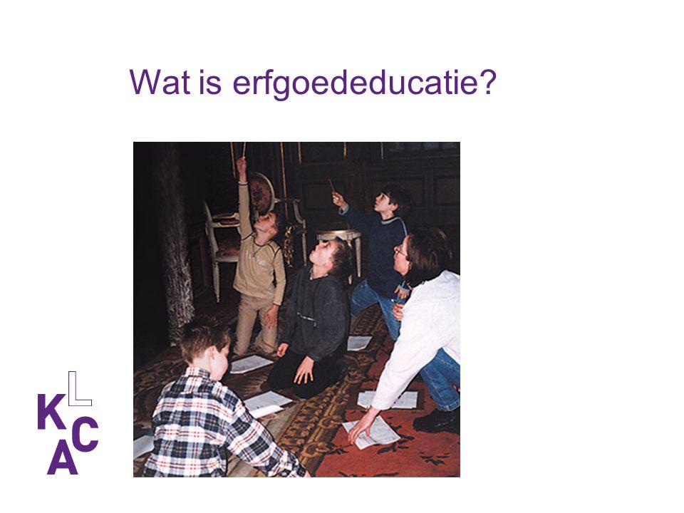 Wat is erfgoededucatie?