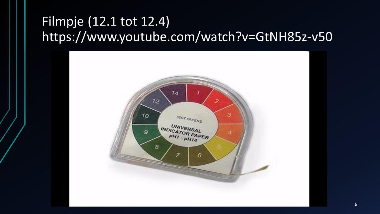Filmpje (12.1 tot 12.4) https://www.youtube.com/watch?v=GtNH85z-v50 6