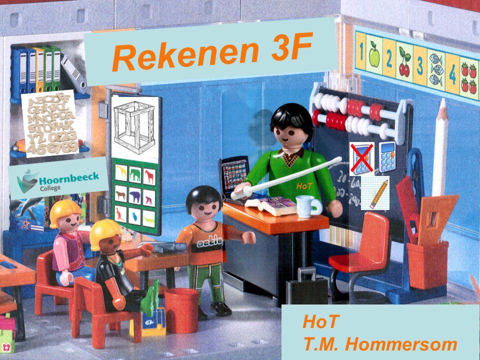 HoT Rekenen 3F B, E en W BOL4 klas 1 klas 2 klas 3 klas 4 REK1 T REK2 BPV REK3 REK4 REK5 T - BPV RT EX RT HK BPV