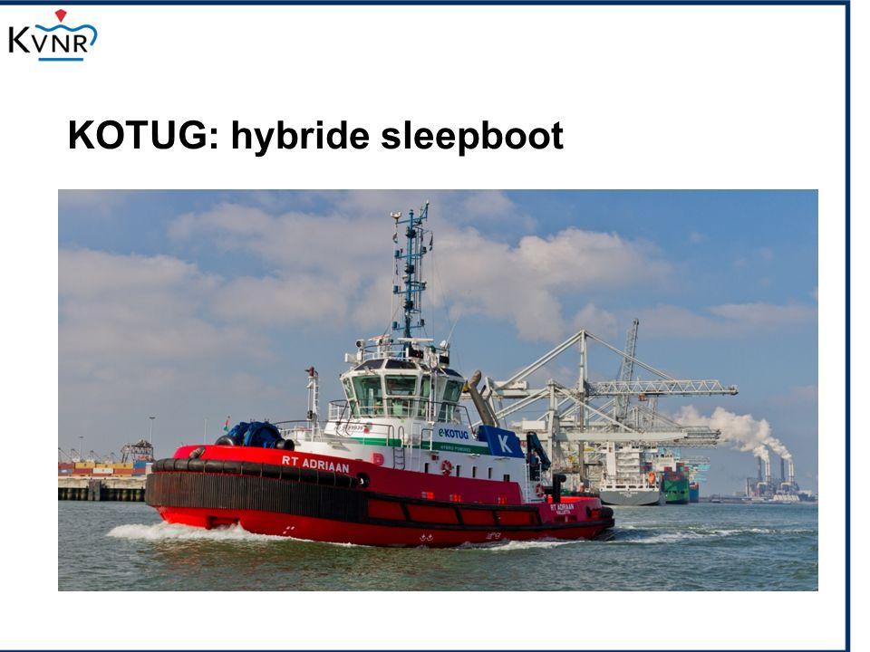 KOTUG: hybride sleepboot