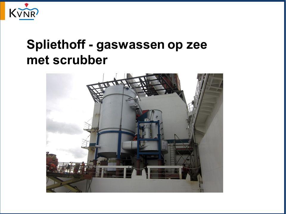 Spliethoff - gaswassen op zee met scrubber