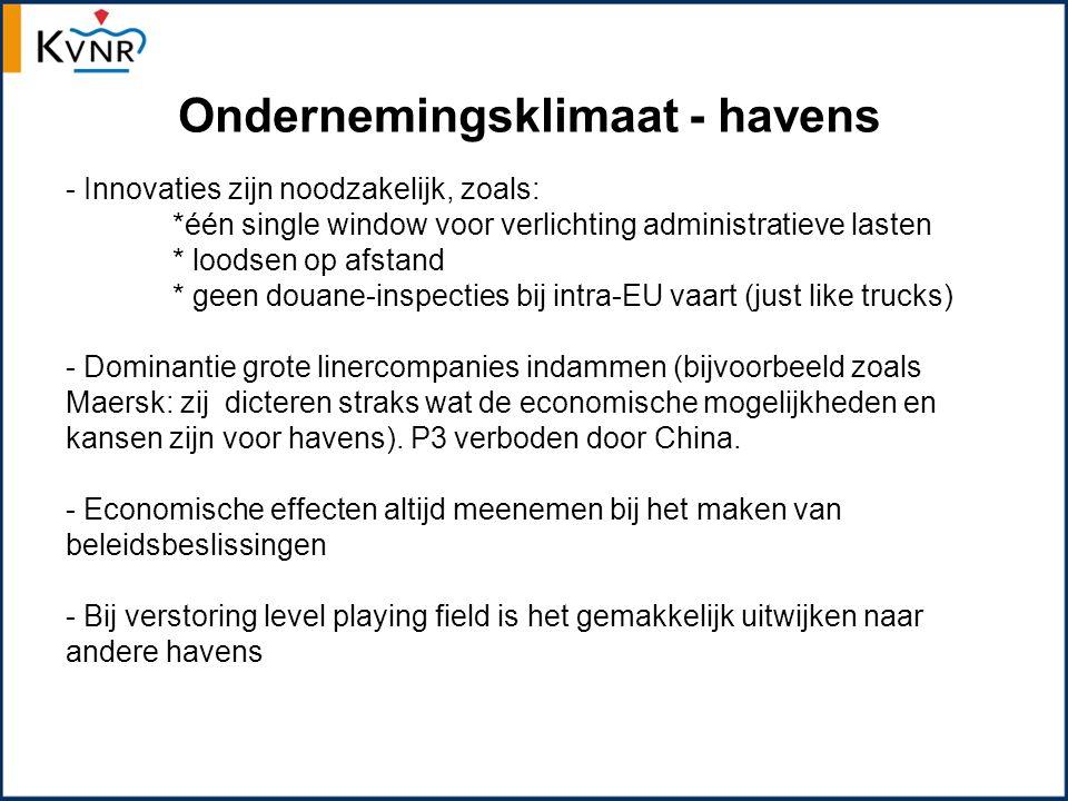 Maritieme arbeidsmarkt - Stage- en baangarantie voor Nederlandse studenten - Specifiek zeescheepvaartonderwijs nodig - Nederlands onderwijs cruciaal voor behoud voldoende aantal Nederlandse zeevarenden - Samenwerking zeevaartopleidingen - Borging van kwaliteit - Verhogen instroom in onderwijs, verkleinen uitval, langer varen