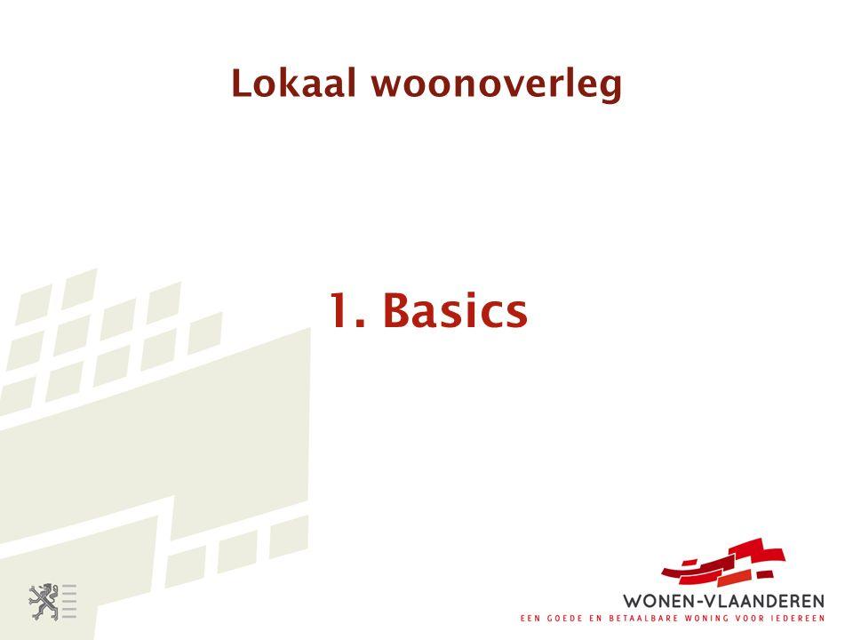 Lokaal woonoverleg 1. Basics