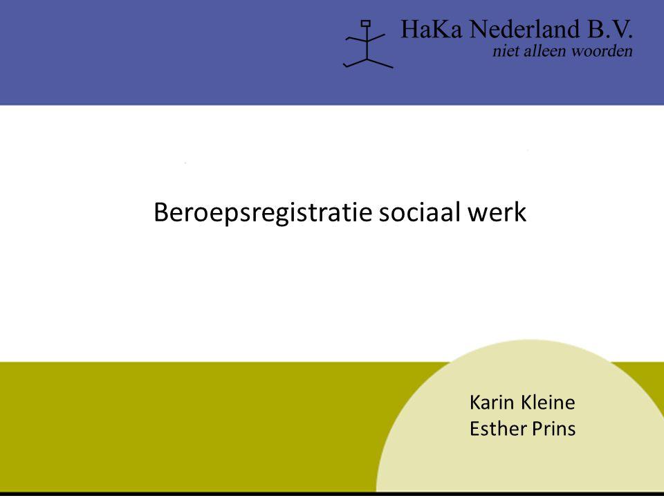 Fotoalbum door INHOLLAND Beroepsregistratie sociaal werk Karin Kleine Esther Prins