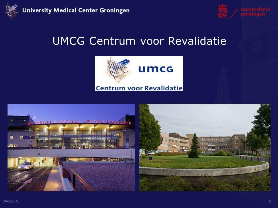 UMCG Centrum voor Revalidatie 30-5-2016 3