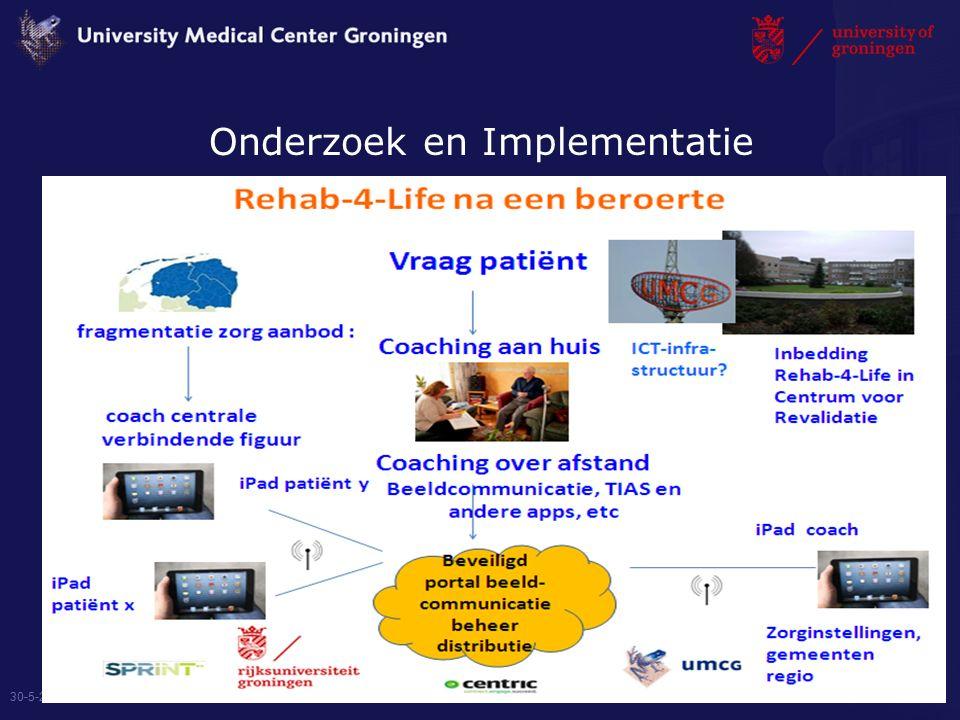 Onderzoek en Implementatie 30-5-2016 8
