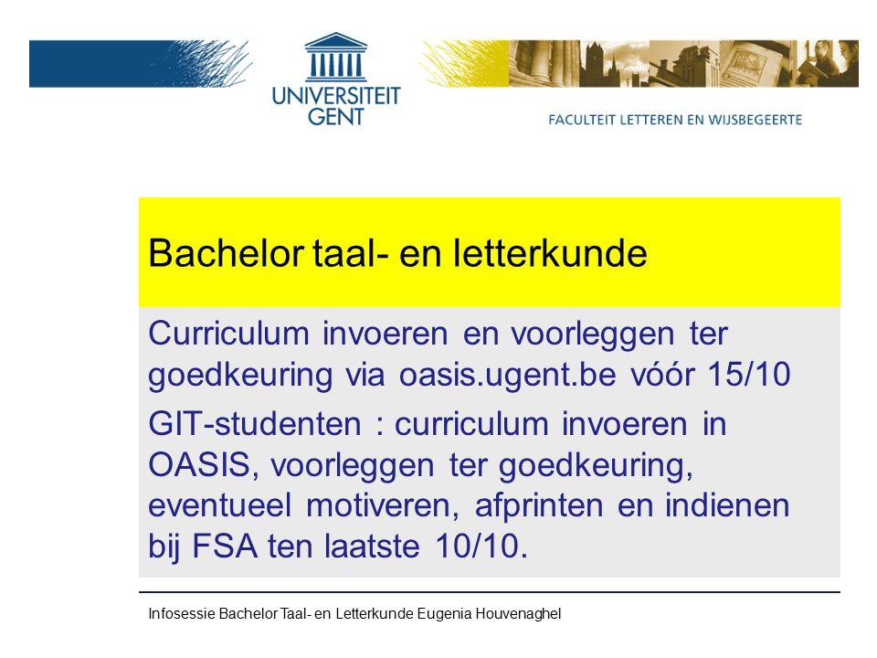 Bachelor taal- en letterkunde Omvang = +-10 000 woorden VERMIJD PLAGIAAT .