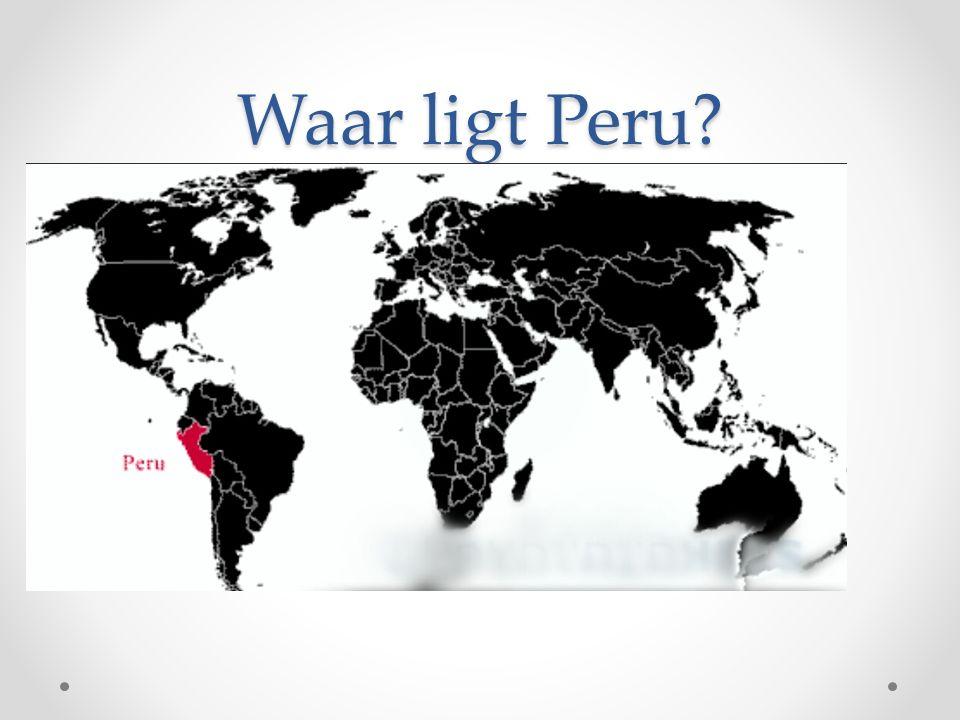 Waar ligt Peru