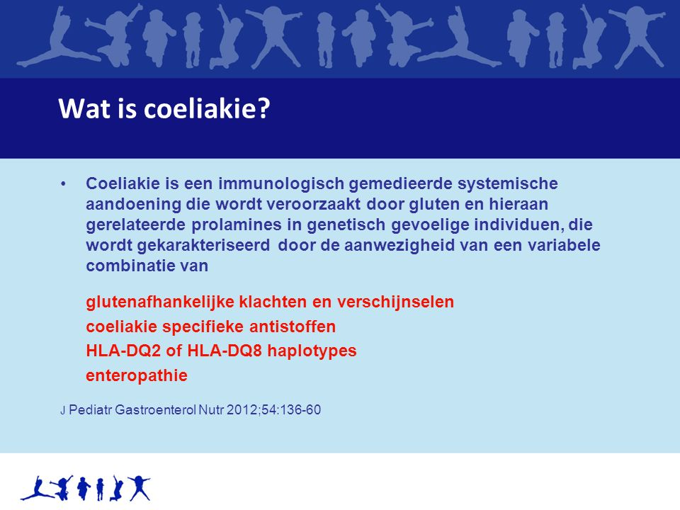 Wat is coeliakie.