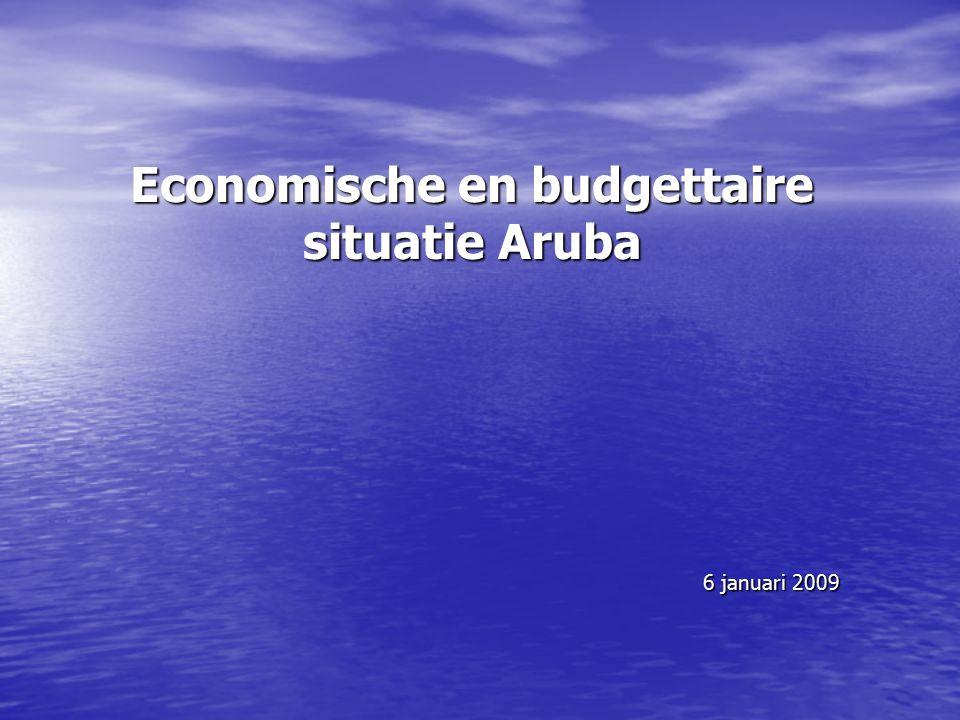 Economische en budgettaire situatie Aruba 6 januari 2009