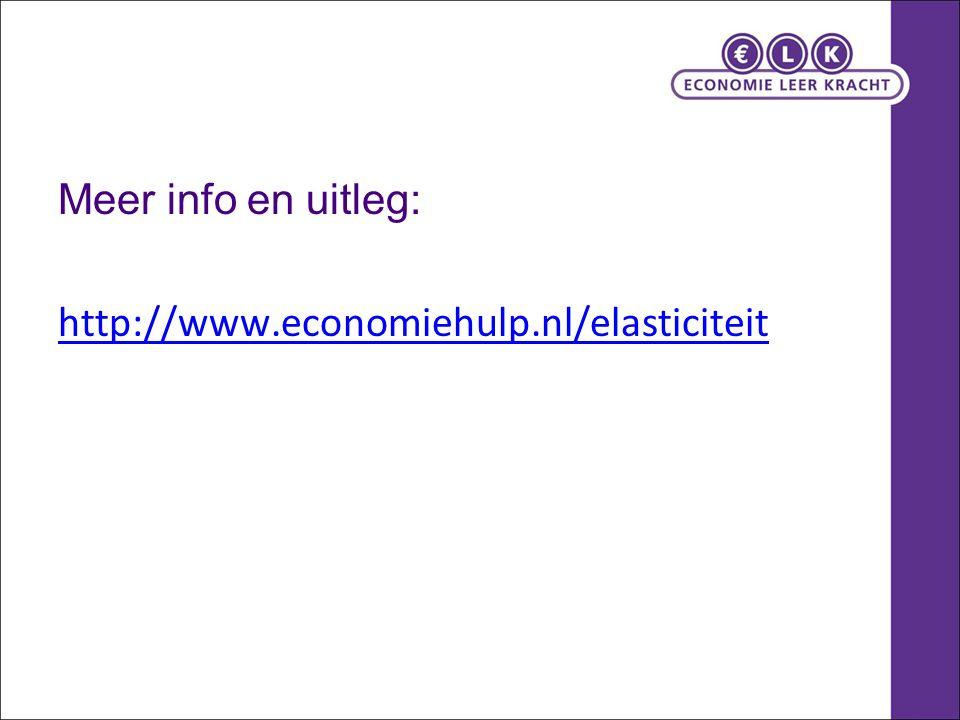 Meer info en uitleg: http://www.economiehulp.nl/elasticiteit