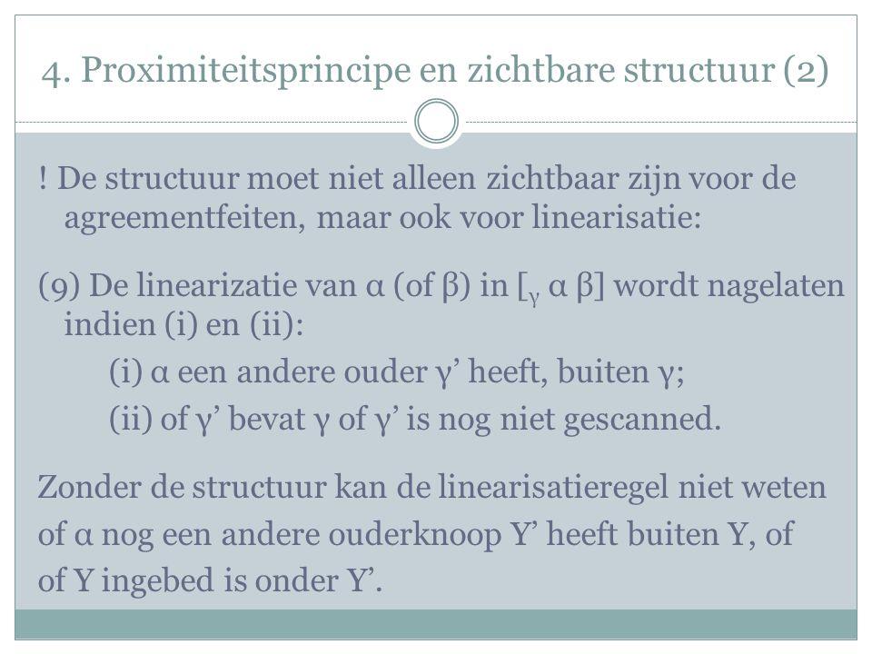 4. Proximiteitsprincipe en zichtbare structuur (2) .