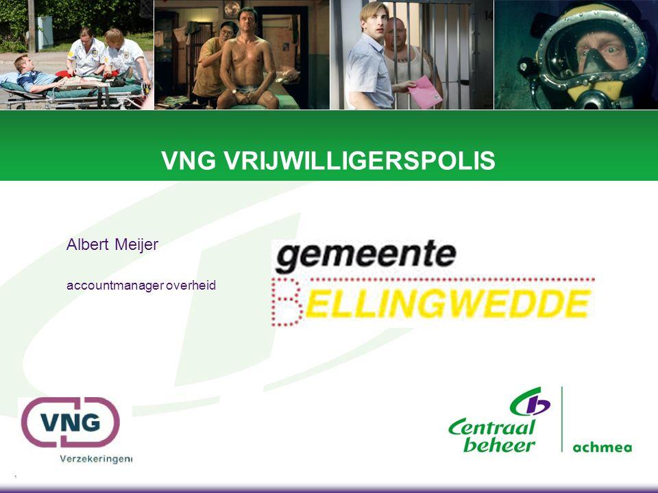 1 VNG VRIJWILLIGERSPOLIS Albert Meijer accountmanager overheid