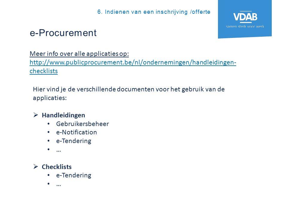 e-Procurement 6.