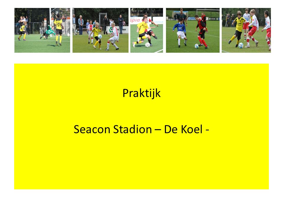 Presentatie wordt naar alle clubs gemaild jderix@vvv-venlo.nl Bedankt voor jullie aandacht