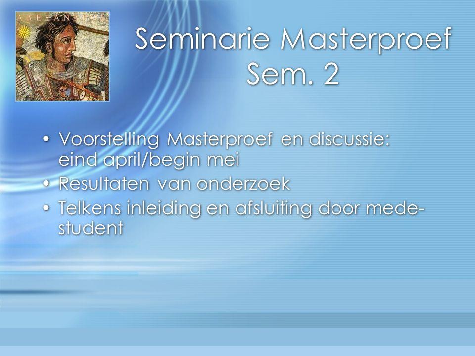 Seminarie Masterproef Sem.